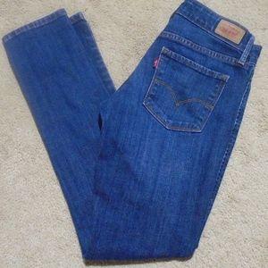"LEVI'S 531 Skinny Jeans ~ 28.5"" Inseam~Fits 00/0"